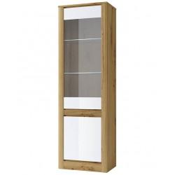 Шкаф-витрина Ричи узкий