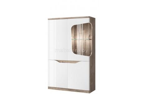 Шкаф-витрина Evora 1V3D L